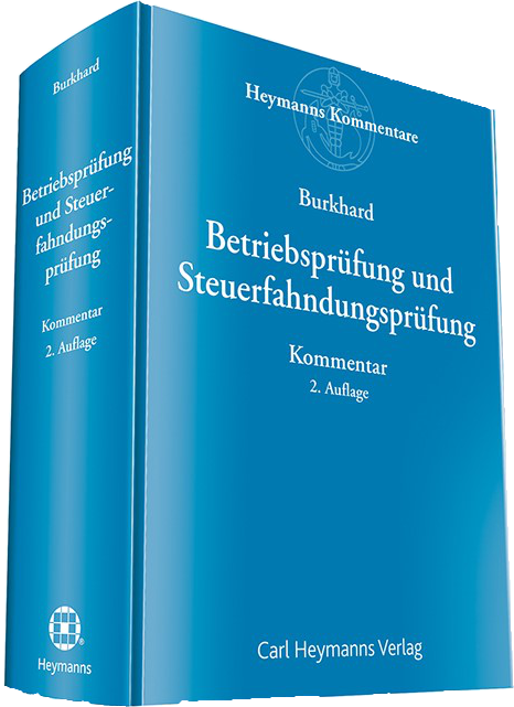 Bild Betriebsprüfung und Steuerfahndungsprüfung Buch drburkhard
