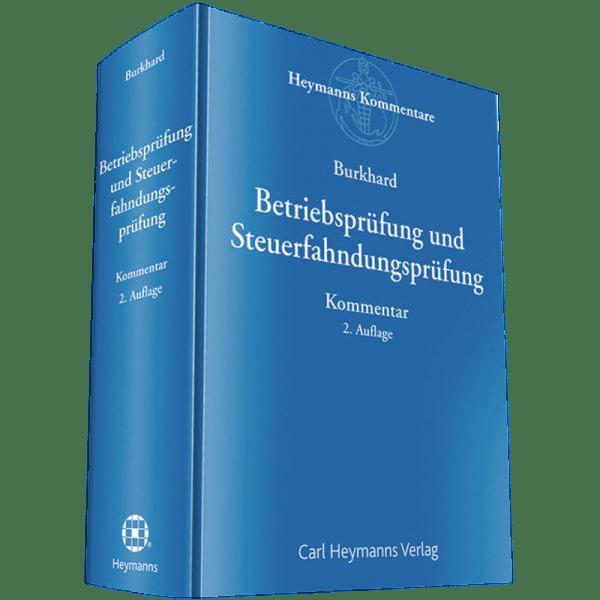 Buch Burkhard Betriebsprüfung 2.Auflage 2019_600x600